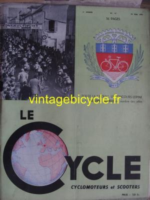 LE CYCLE 1951 - 05 - N°13 mai 1951