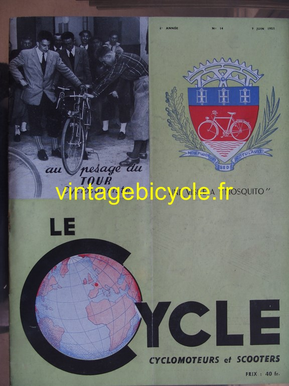Vintage bicycle fr lecycle 69 copier