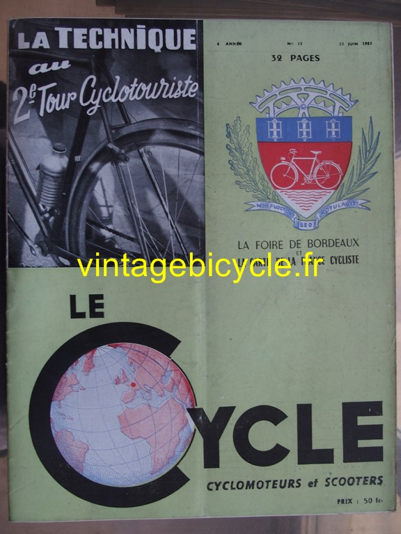 Vintage bicycle fr lecycle 70 copier