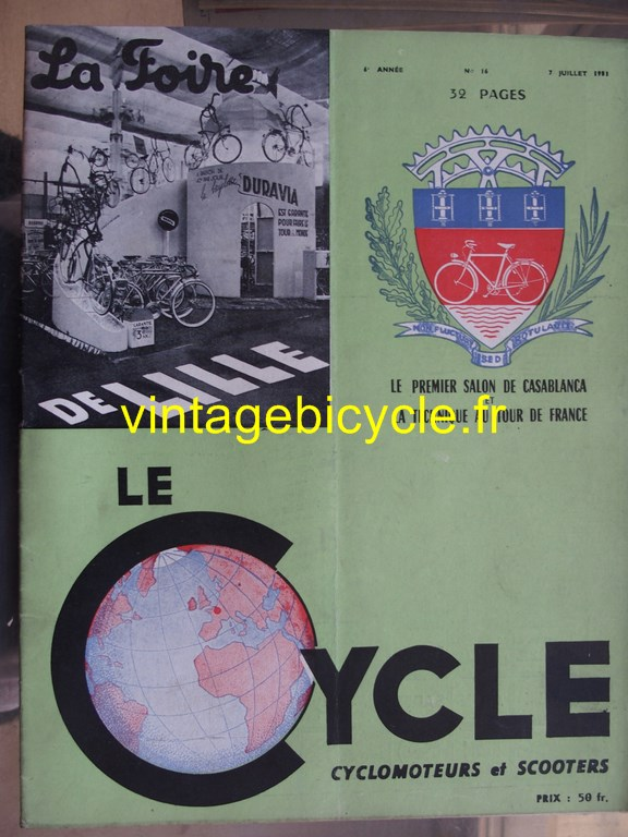 Vintage bicycle fr lecycle 72 copier
