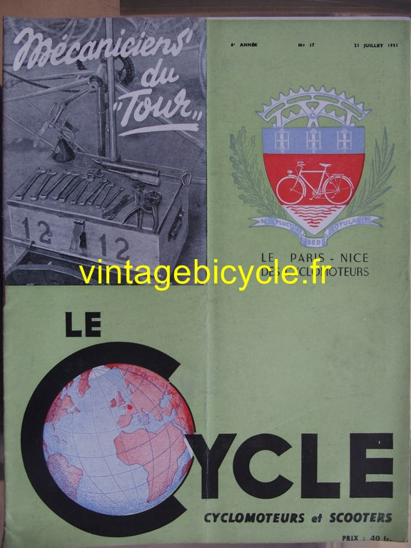 Vintage bicycle fr lecycle 73 copier