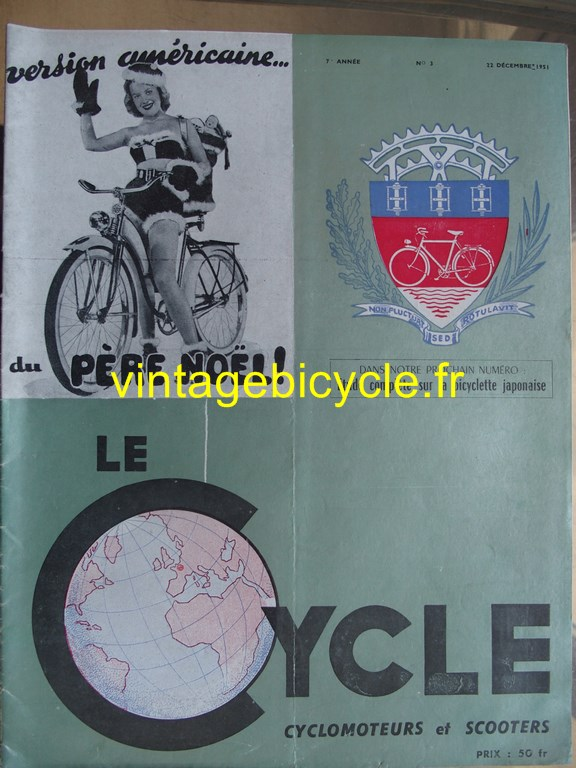 Vintage bicycle fr lecycle 78 copier
