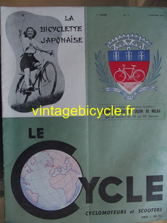 Vintage bicycle fr lecycle 80 copier