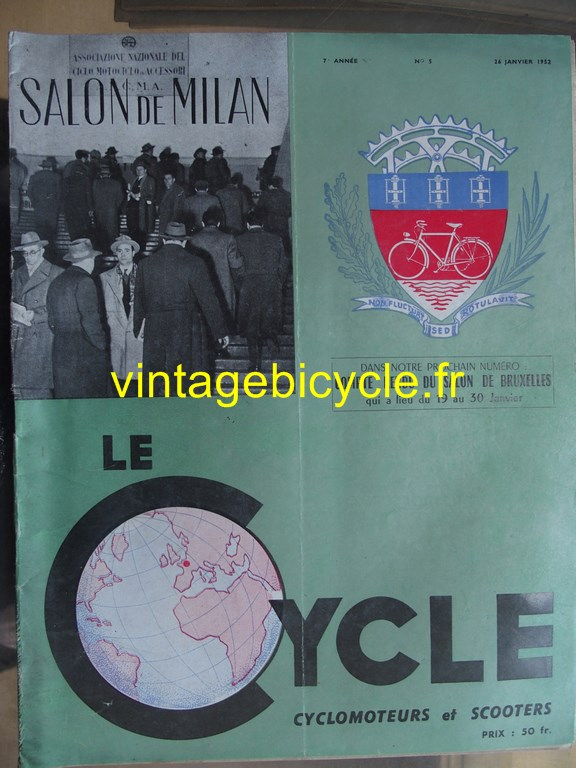 Vintage bicycle fr lecycle 81 copier