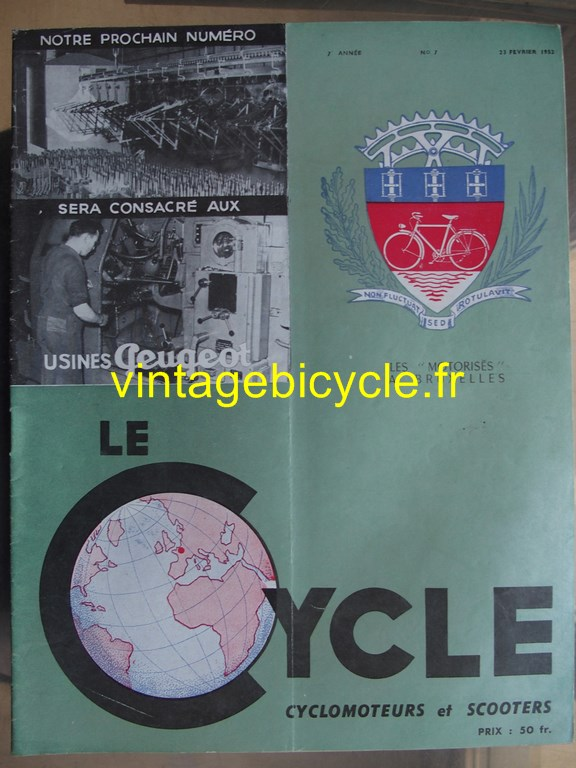 Vintage bicycle fr lecycle 82 copier