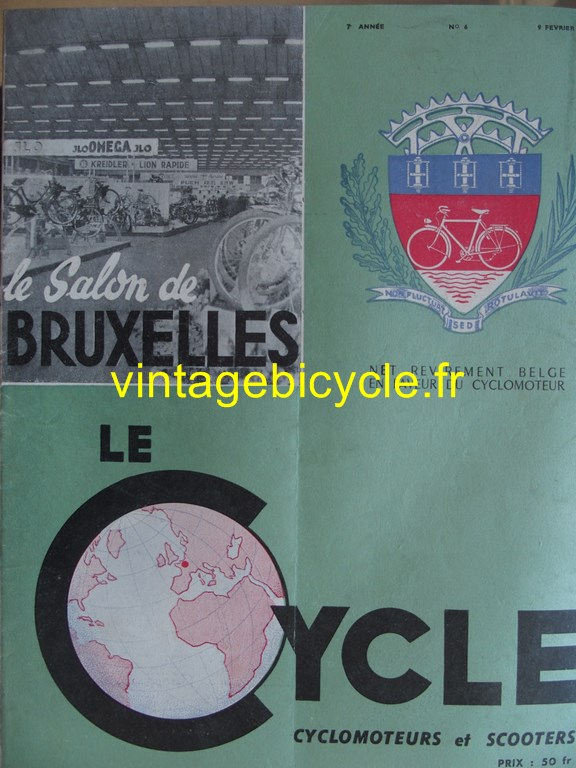 Vintage bicycle fr lecycle 83 copier