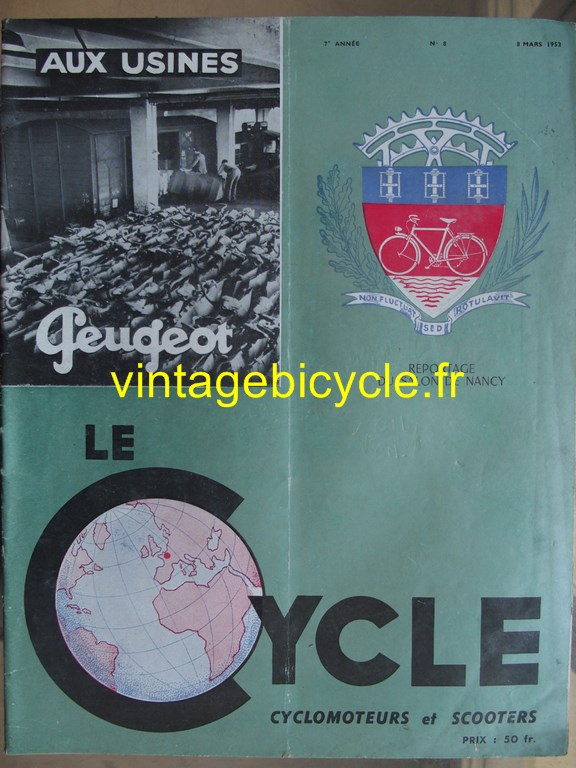 Vintage bicycle fr lecycle 84 copier