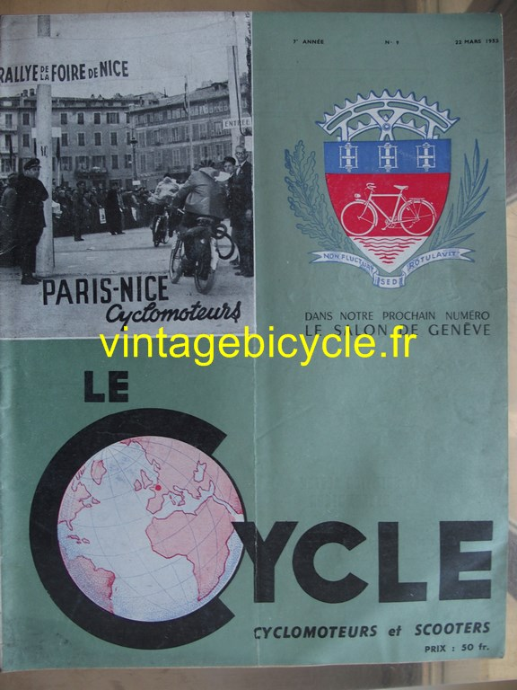 Vintage bicycle fr lecycle 85 copier
