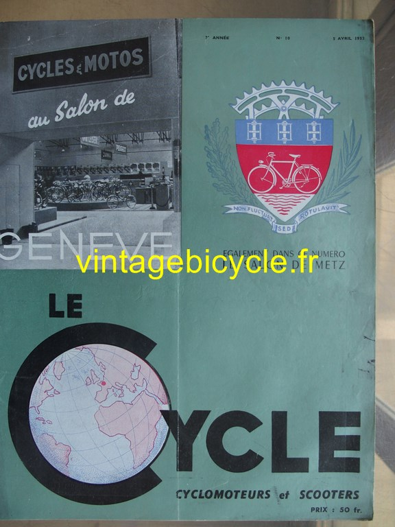 Vintage bicycle fr lecycle 86 copier