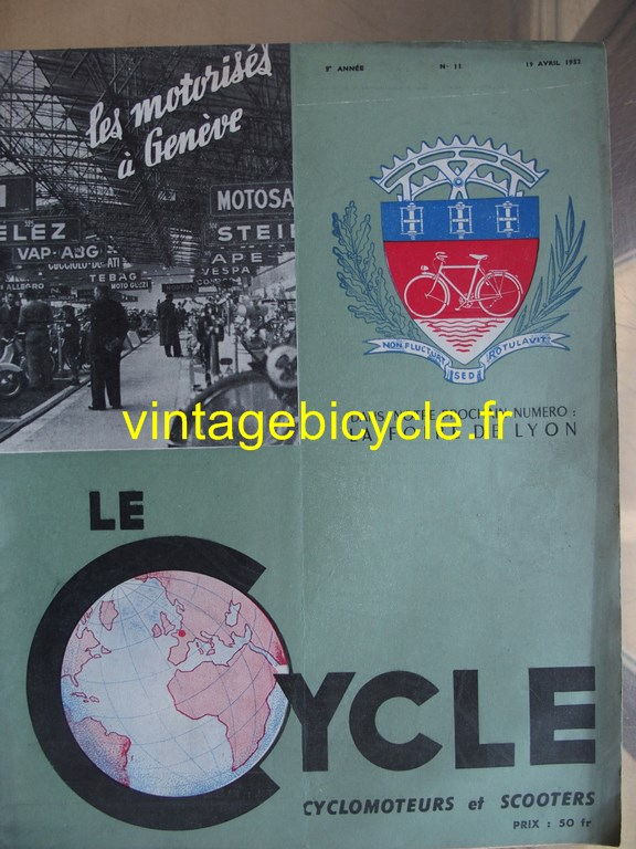 Vintage bicycle fr lecycle 87 copier