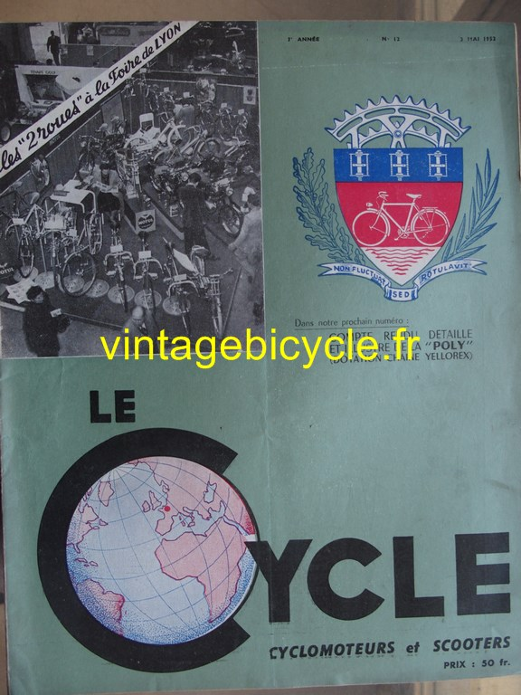 Vintage bicycle fr lecycle 88 copier