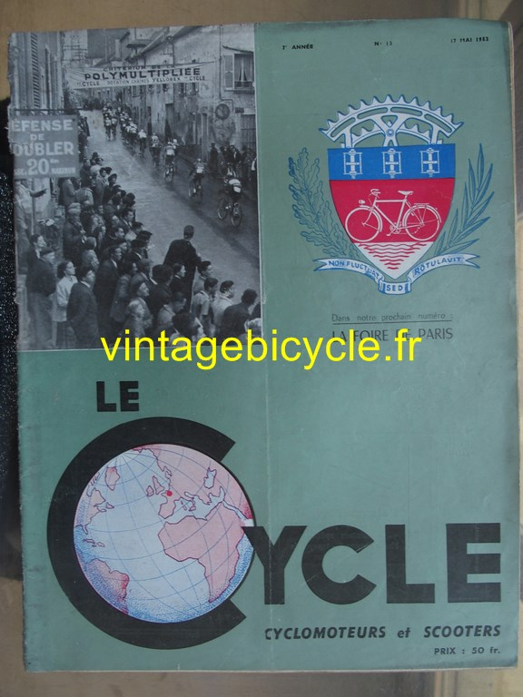 Vintage bicycle fr lecycle 89 copier
