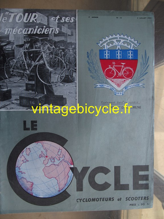 Vintage bicycle fr lecycle 91 copier
