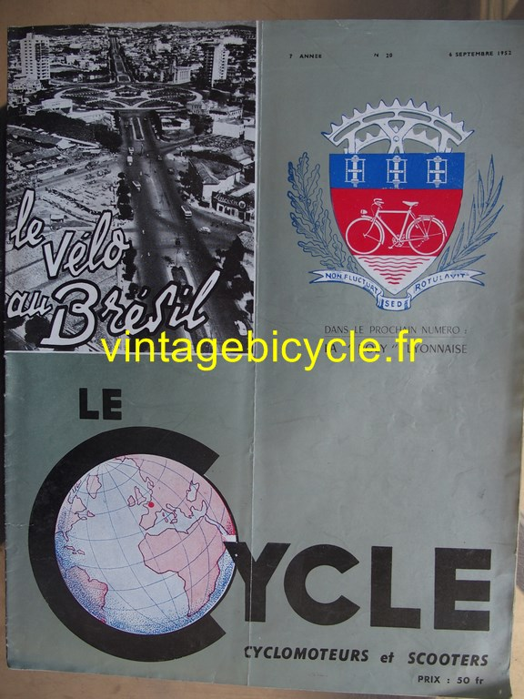 Vintage bicycle fr lecycle 96 copier