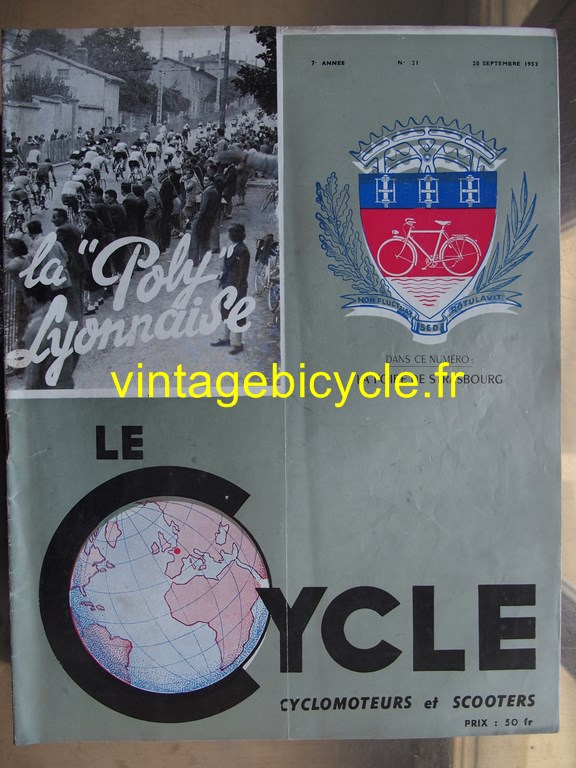 Vintage bicycle fr lecycle 97 copier