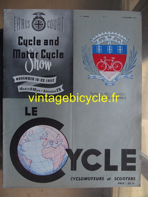 Vintage bicycle fr lecycle 98 copier