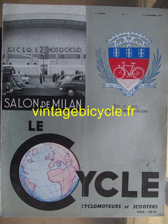 Vintage bicycle fr lecycle 99 copier