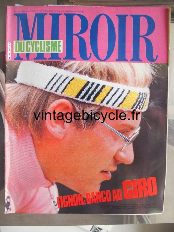 Vintage bicycle fr miroir du cyclisme 14 copier