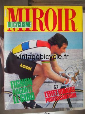 MIROIR DU CYCLISME 1984 - 06 - N°352 juin 1984