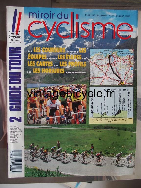 Vintage bicycle fr miroir du cyclisme 25 copier