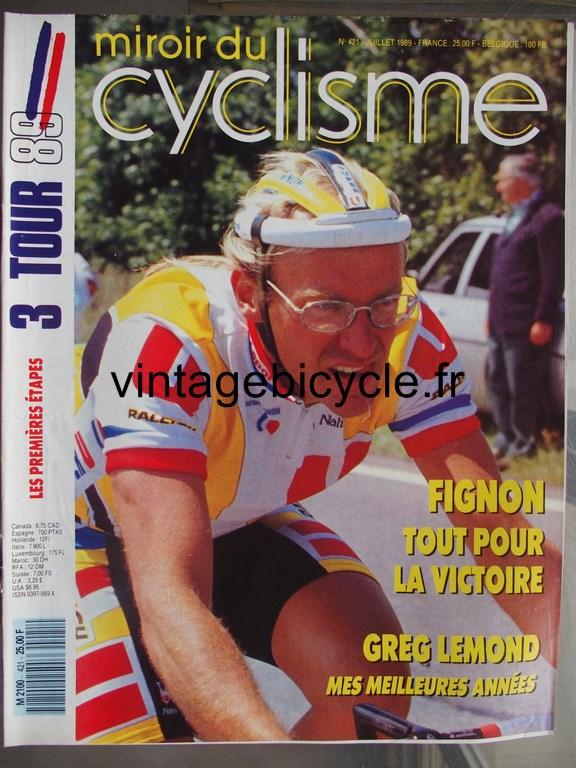 Vintage bicycle fr miroir du cyclisme 26 copier