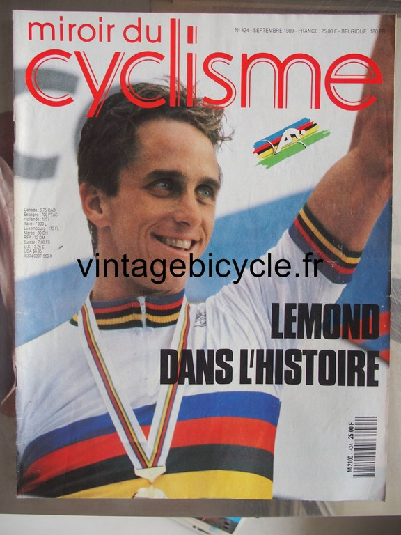 Vintage bicycle fr miroir du cyclisme 28 copier