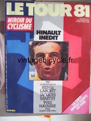 MIROIR DU CYCLISME 1981 - 06 - N°302 juin 1981