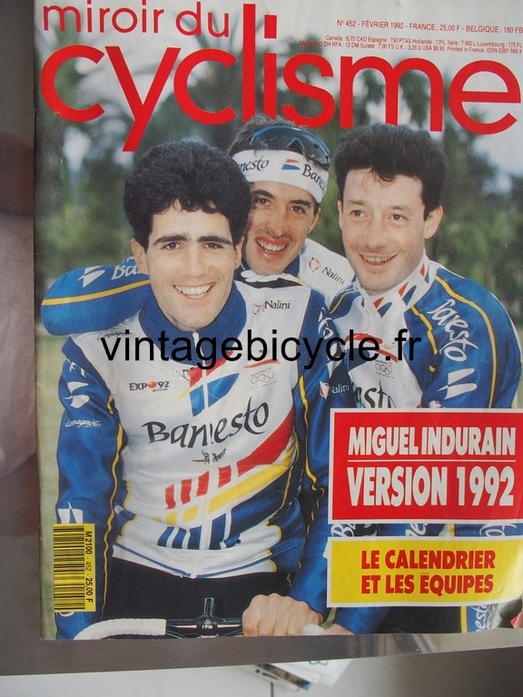 Vintage bicycle fr miroir du cyclisme 42 copier