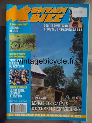 MOUNTAIN BIKE INTERNATIONAL 1993 - 10 - N°30 octobre 1993