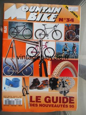 MOUNTAIN BIKE INTERNATIONAL 1995 - 01 - N°34 janvier / fevrier / mars 1995