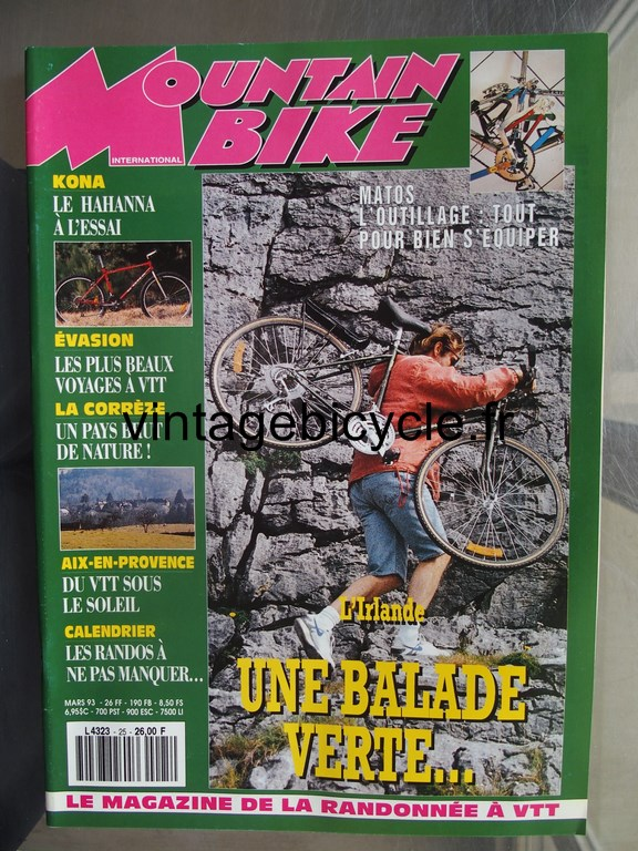 Vintage bicycle fr mountain bike international 7 copier
