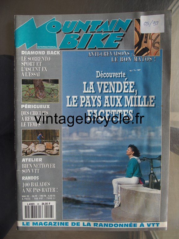 Vintage bicycle fr mountain bike international 8 copier