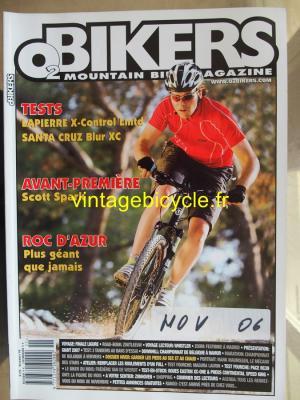 O2 BIKERS - 2006 - 11 - N°125 novembre 2006