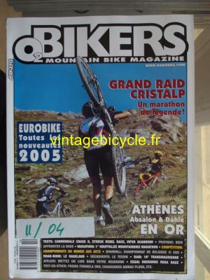 O2 BIKERS - 2004 - 10 - N°104 octobre 2004