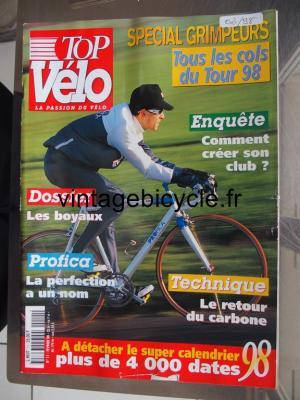 TOP VELO 1998 - 02 - N°11 fevrier 1998