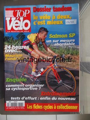 TOP VELO 1998 - 04 - N°13 avril 1998