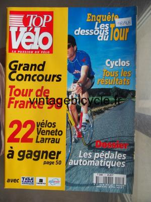 TOP VELO 1998 - 08 - N°17 aout 1998