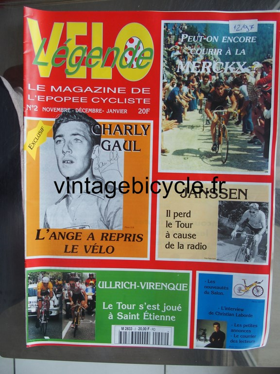 Vintage bicycle fr velo legende 1 copier