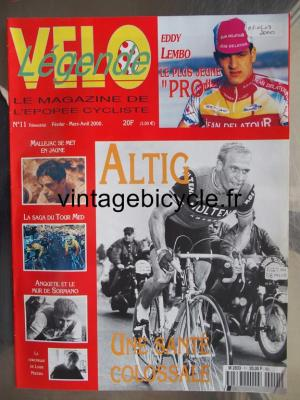 VELO LEGENDE 2000 - 02 - N°11 fevrier / mars / avril 2000