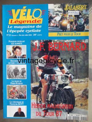 VELO LEGENDE 2000 - 05 - N°12 mai / juin / juillet 2000