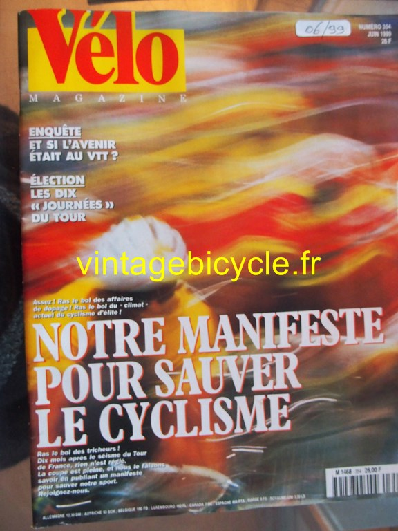 Vintage bicycle fr velo magazine 15 copier