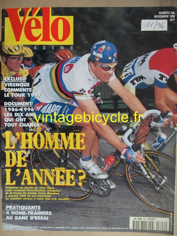 Vintage bicycle fr velo magazine 27 copier
