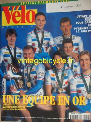 VELO MAGAZINE 1996 - 12 - N°327 decembre 1996