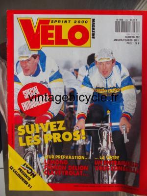 VELO SPRINT 2000 1991 - 01 - N°262 janvier / fevrier 1991