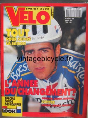 VELO SPRINT 2000 1991 - 03 - N°263 mars 1991