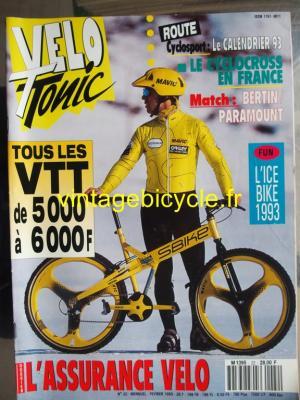 VELO TONIC 1993 - 02 - N°22 fevrier 1993