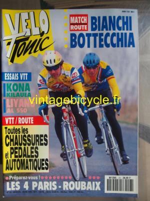 VELO TONIC 1993 - 03 - N°23 mars 1993