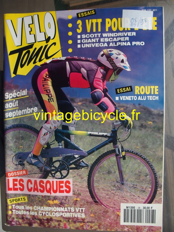 Vintage bicycle fr velo tonic 14 copier