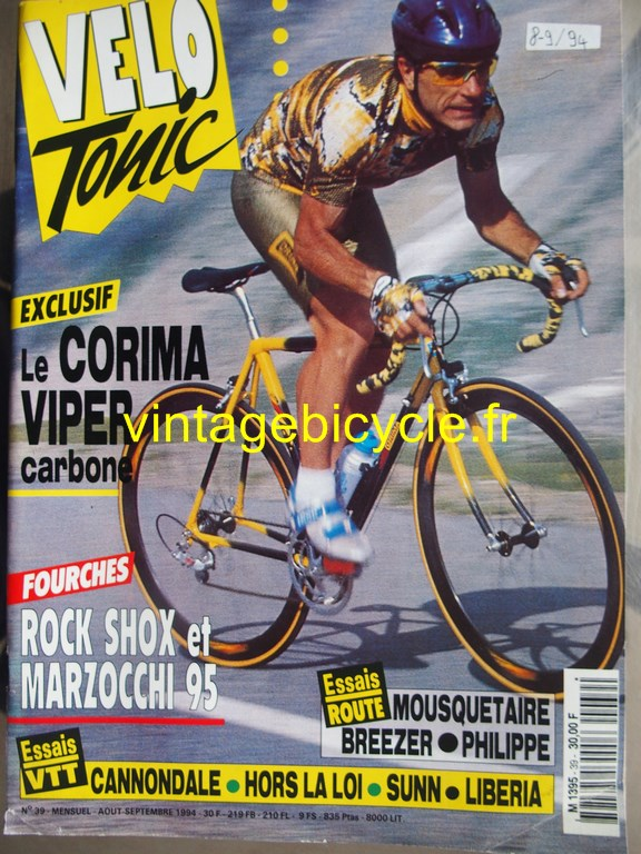 Vintage bicycle fr velo tonic 23 copier