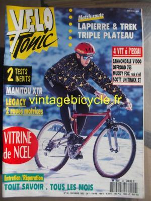 VELO TONIC 1992 - 12 - N°20 decembre 1992